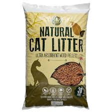 wooden cat b m cat wood litter 30l 297129 b m