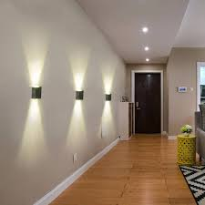 Interior Bedroom Wall Lights Aluminum 2w Modern Led Wall Light Up Down Sconce Lighting Bedroom