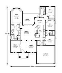 home plans and more 4 room house plans home plans homepw26051 2 974 square 4