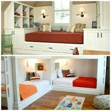 amenagement chambre pour 2 filles lit pour deux une chambre pour deux lits enfants lit nature