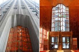 Red Room by Inside Art Deco Beauty One Wall Street Before Its Makeover Curbed Ny