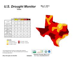 Us Drought Map Texas Crop Weather For May 10 2011 Agrilife Todayagrilife Today