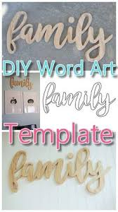 do it yourself word art easy scroll saw woodworking diy project