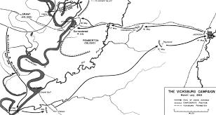 Map Grant Vicksburg