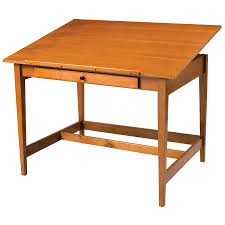 Mayline Oak Drafting Table Alvin 28 X 42 Vanguard Wood Drafting Table Van42