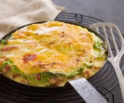 cuisiner du choux vert recette gourmande tartiflette au chou vert