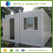 steel structure container homes 40ft luxury house quality