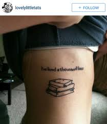 tattoo writing on thigh 14 tattoo ideas for the writer in you filter copy