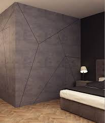 Interior Design Bete Noir In Valletta Malta Master Bedroom - Concrete walls design