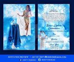 colors printable cinderella birthday invitation card maker with