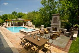 backyards innovative pool landscaping ideas phoenix tuscan