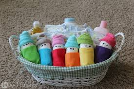 baby shower baskets how to make babies easy baby shower gift idea frugal