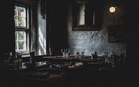 dark interior interior dark restaurant photo for free download