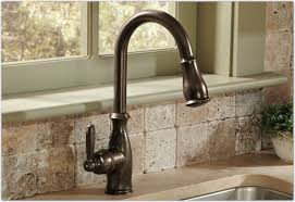 brushed bronze kitchen faucet rubbed bronze kitchen faucet delta aginergy
