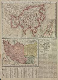 United States Map Mountains And Rivers by Palestine Or The Holy Land Persia Afghanistan And Beluchistan