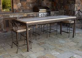 Patio Furniture Franklin Tn by Cyprus Counter Height Table Ccs 110 W Stools Ccs 155 Iron