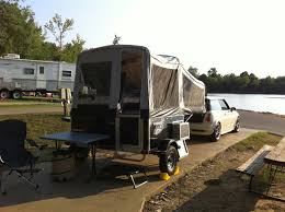 Awning For Tent Trailer Livin U0027lite 5 0 With Custom Sewn Awning And Vestibule Popupportal