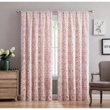 Curtains Co Pink Curtains U0026 Drapes Window Treatments The Home Depot