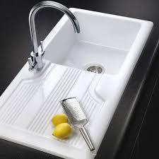 Rangemaster Portland Kitchen Sink CPLWH  Bowl White - Rangemaster kitchen sinks