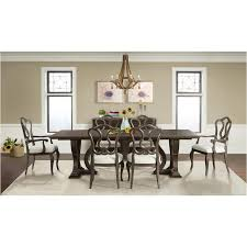 24950 riverside furniture verona dining room trestle dining table