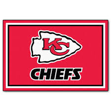 fanmats kansas city chiefs 5 ft x 8 ft area rug 6585 the home