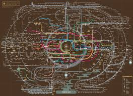 Fallout 3 Metro Map by The Tokyo Metro Woahdude