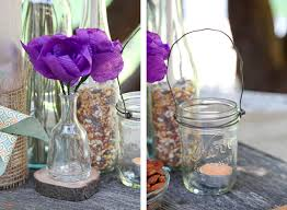 How Much Are Centerpieces For Weddings by Diy Backyard Bbq Wedding Reception Snixy Kitchen