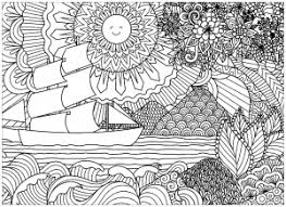 coloring pages for landscapes landscapes coloring pages for adults