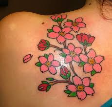 June Flower Tattoos - flowers tattoos design june 2012
