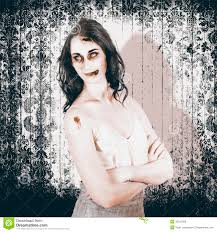 vintage halloween spook on grunge background royalty free stock