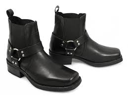 motorbike boots on sale men u0027s cowboy biker terminater boots gringos harley leather amazon
