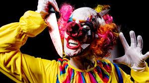psycho clown makeup tutorial