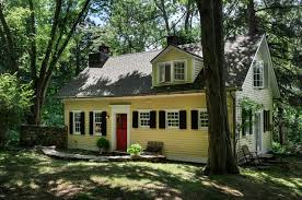 cottage house exterior writers cottage traditional exterior new york by crisp