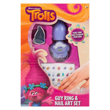 wholesale trolls ring and nail art sets discount wholesale