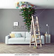 room tree zero gravity 3d stock illustration 349184000