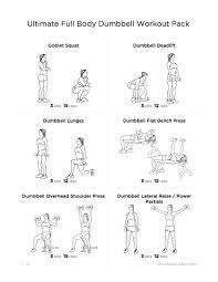 full body dumbbell workouts for fitness