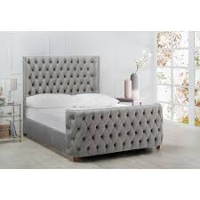 Tufted Bed Frame Tufted Headboard Bed Free Shipping