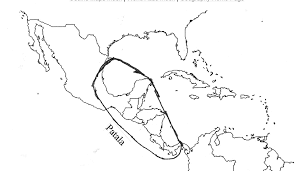 Americas Map by Physical Map Of Mexico And Central America Central America