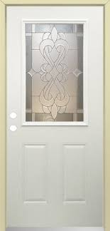 Prehung Exterior Door Mastercraft Sr 656 Steel Half Lite Prehung Exterior Door At Menards