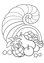 print coloring image thanksgiving craft and holidays