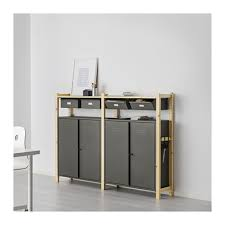 ivar ikea ivar 2 section storage unit w cabinets ikea