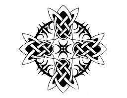 celtic tribal cross design tattooshunt com