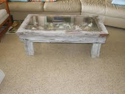 rustic shadow box coffee table for the home pinterest shadow