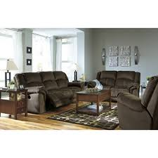 Famsa Living Room Sets by Ashley Furniture Quinnlyn Reclining Power Livingroom Set In Coffee