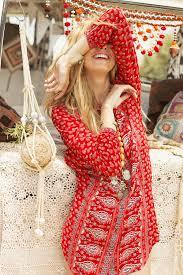 084 spell designs gypsiana shirt dress red bandana luciana rose