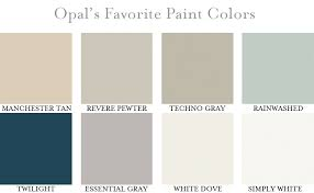 opal u0027s favorite paint colors u2014 opal design group