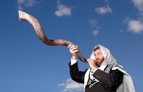 rams horn trumpet rosh hashanah the feast of trumpets the