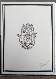 hand of hamsa tattoo design 2 by goaten on deviantart