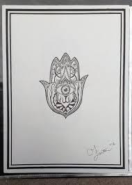 hand of hamsa tattoo design 2 by goaten on deviantart