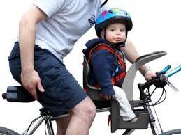 siege avant bebe velo test du portebébé groovy et du casque enfant birdy matos vélo le